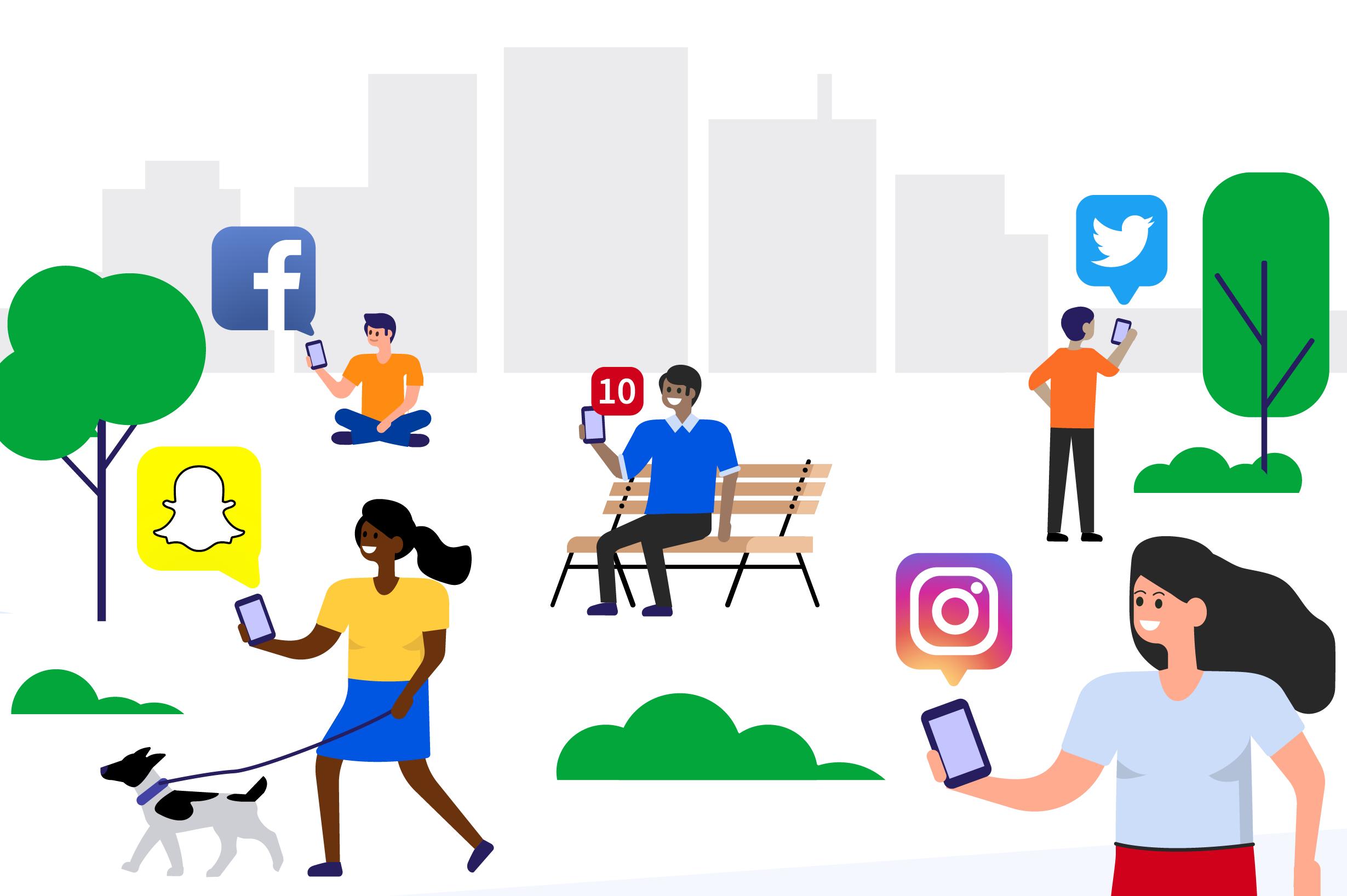 Как социальные сети влияют на нашу жизнь?