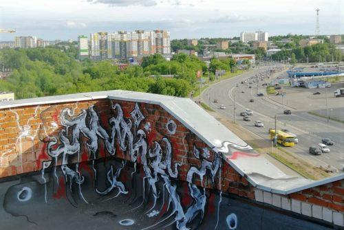 Жизнь улицы – граффити